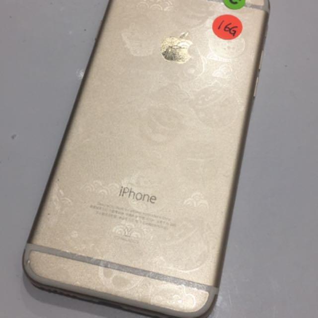 Iphone6 16g 香檳金