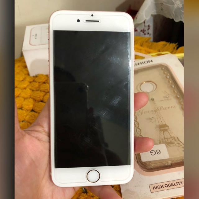 Iphone6s, 16gb, Globe locked, Rosegold