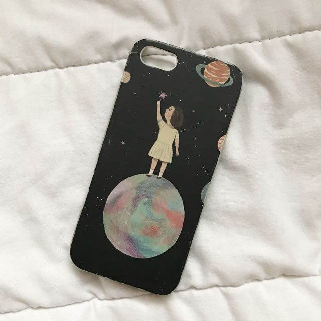 iPhone 5/5s/5SE Moon Girl Case