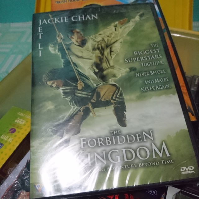 Jackie Chan DVDs