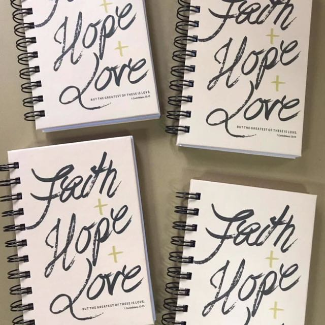 Journal notebook (php300 for 4 pcs)