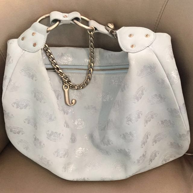 """""""Juicy Couture """"Soft Leather Powder Blue REDUCED"""