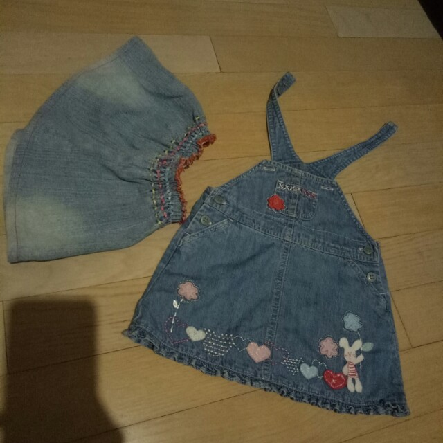 Jumper and Rok Jeans Baby