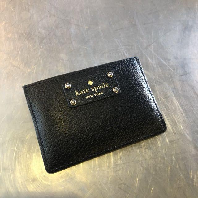 online retailer 762f8 57820 Kate Spade New York Black card holder on Carousell