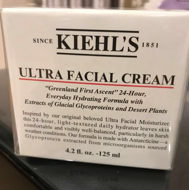 Kiehl's契爾氏冰河糖蛋白保濕霜125ml