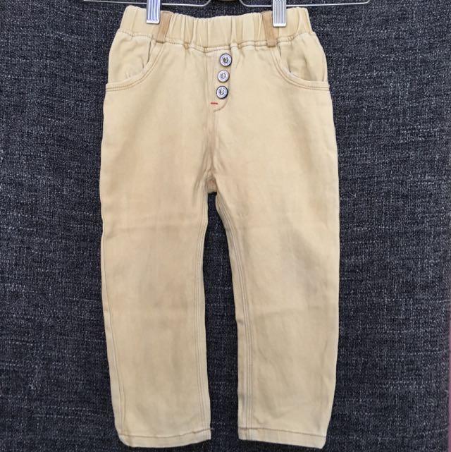 Korean Brand Brown Pants