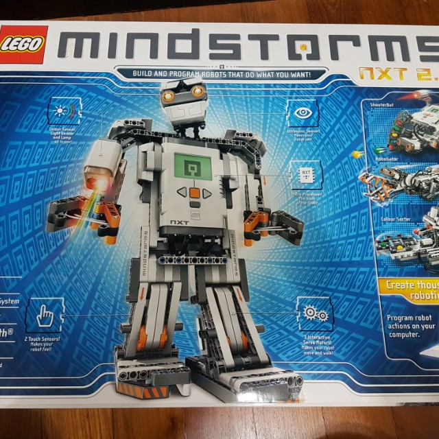 Lego Mindstorms NXT 2.0, Toys & Games, Bricks & Figurines on Carousell