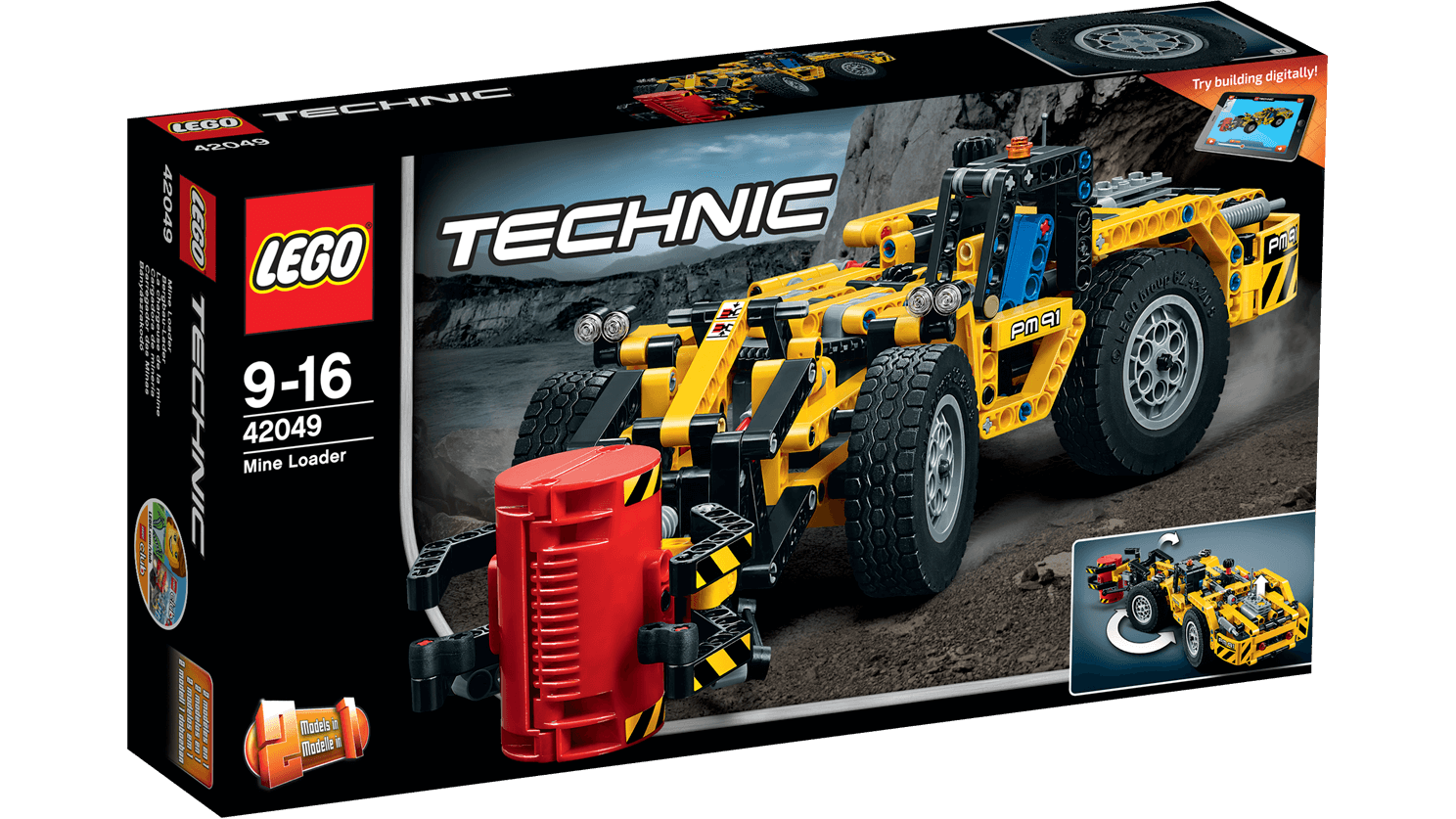 Sonstige LEGO Technic Mine Loader 42049 Vehicle Toy