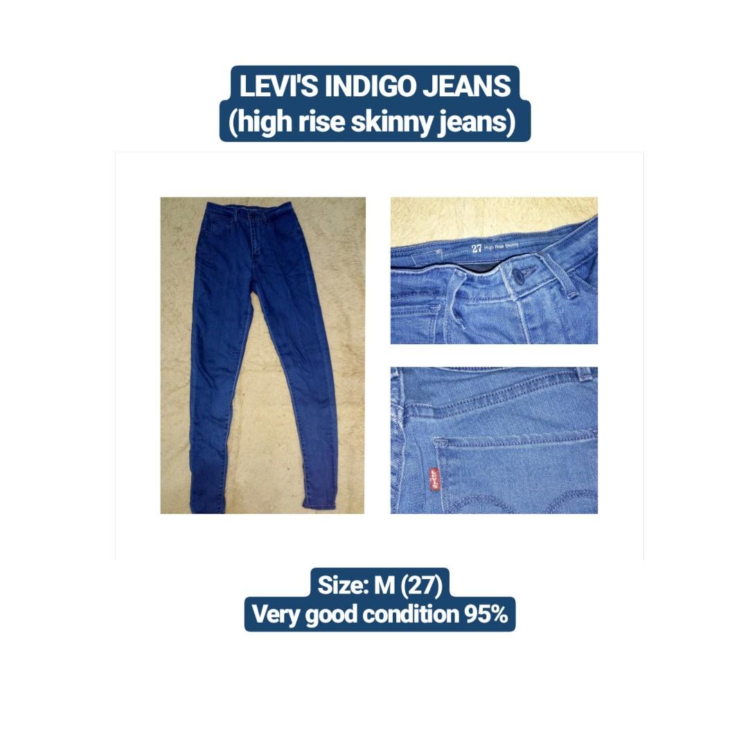 LEVI'S Indigo Jeans (high waist)