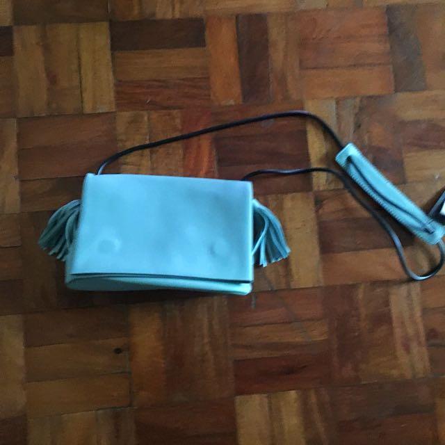 Light Blue Sling Bag
