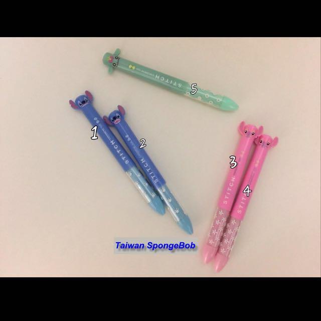 Lilo & Stitch 星際寶貝-史迪奇/安琪/邦尼 雙色原子筆 雙色圓珠筆 (紅藍雙色筆芯)~有五種款式