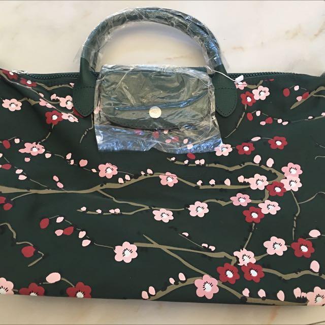 Longchamp Le Pliage Fantaisie Sakura