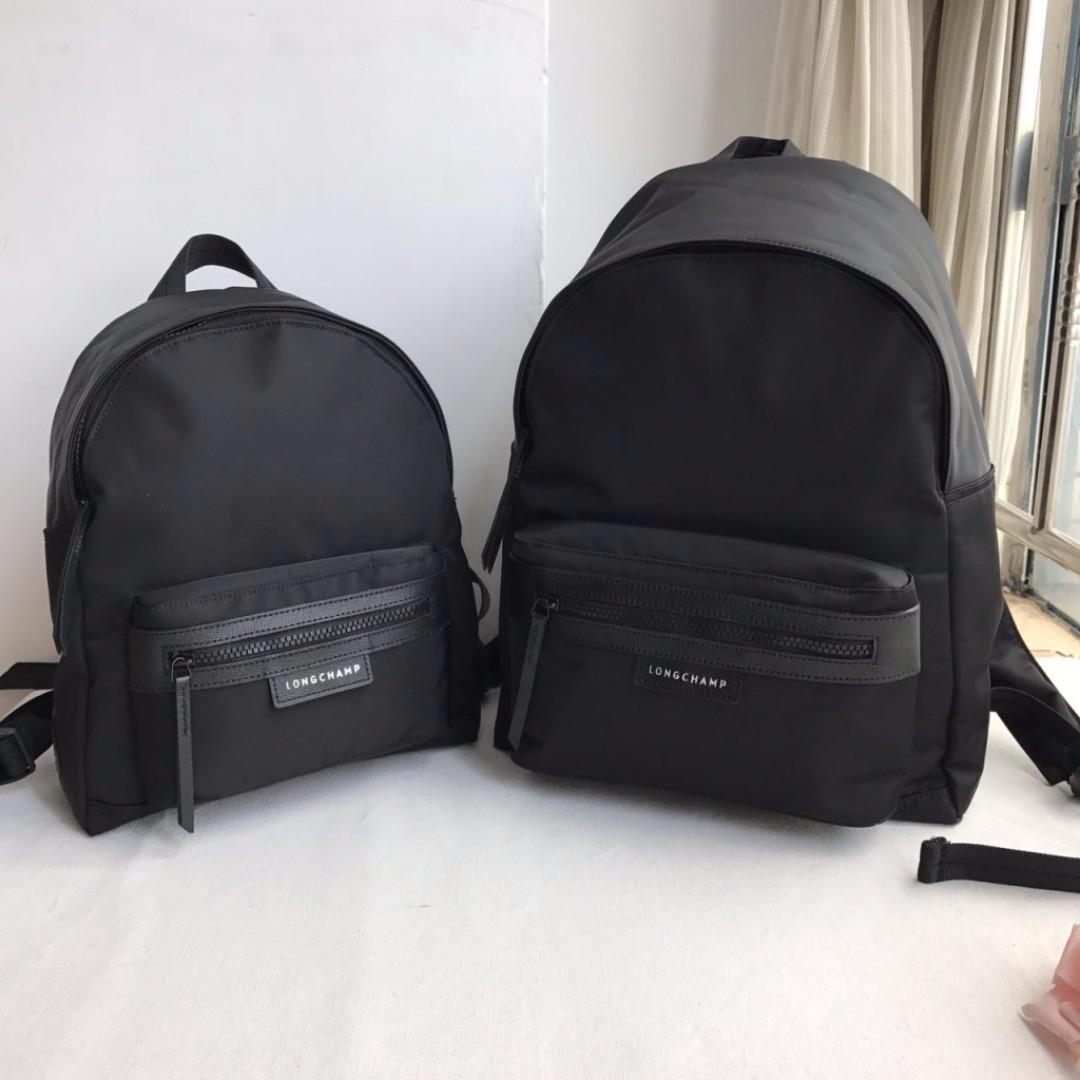 Longchamp Le Pliage Neo Backpack M - BLACK