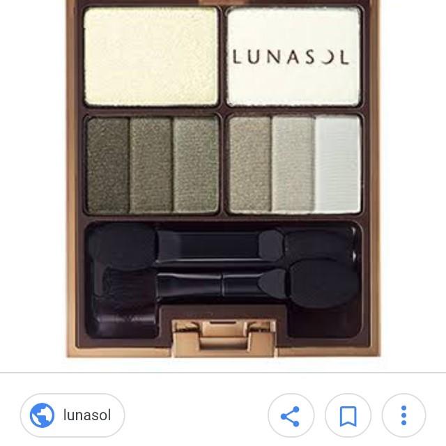Lunasol kanebo eyeshadow