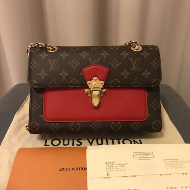 LV Louis Vuitton Victoria Chain Shoulder Bag Sling bag