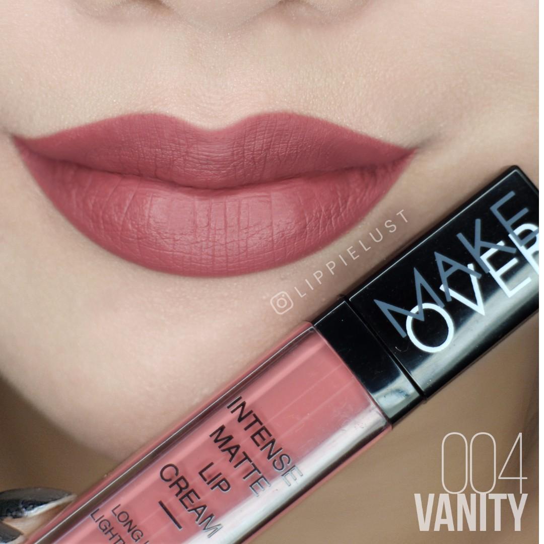 Make over intense matte lip cream harga