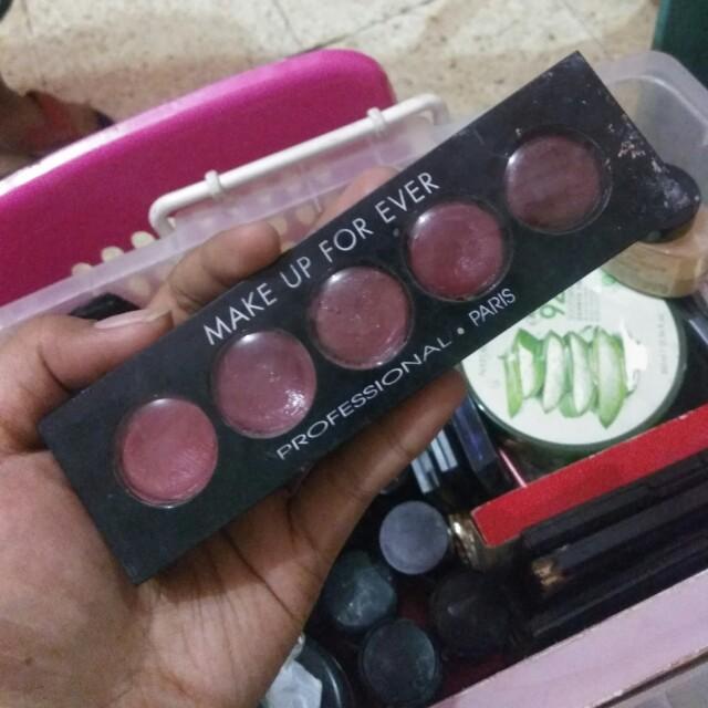 Make Up For Ever Lip Pallete