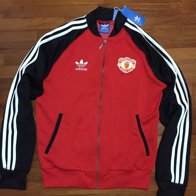 1db11b7544e Manchester United Retro Adidas Jacket