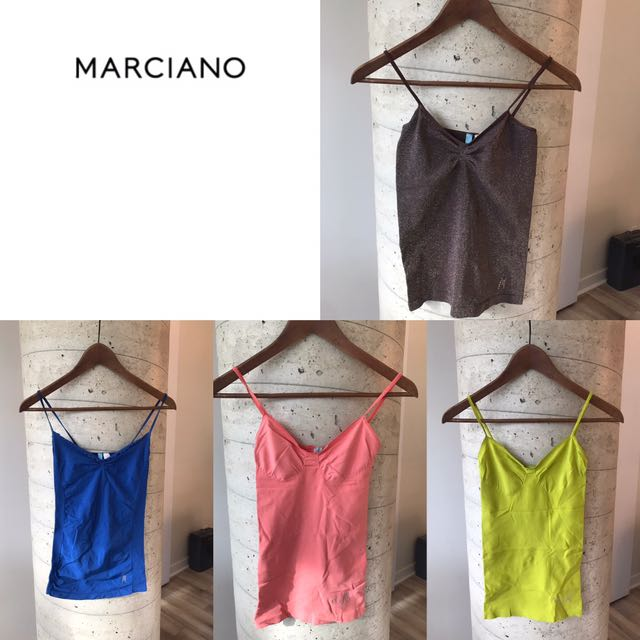 Marciano Tank Tops size small