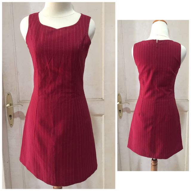 Maroon dress top