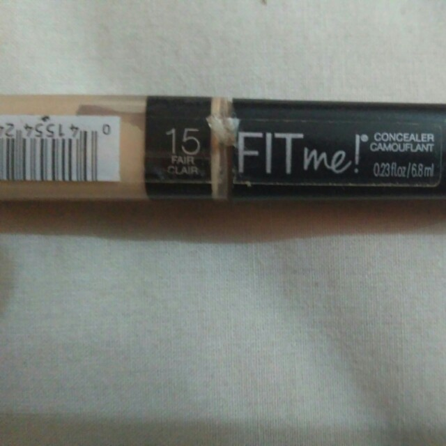 Maybelline fit me concealer shade 15 (fair clair)