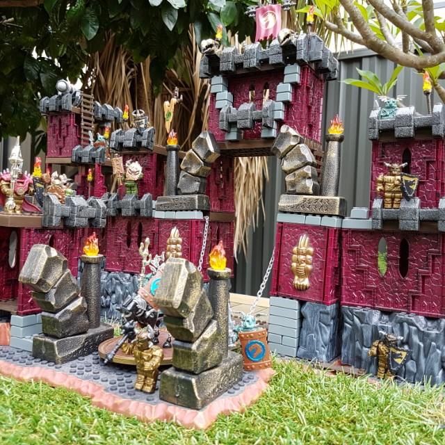 Mega Bloks Dragons Krystal Wars - Draigar Castle, Toys & Games