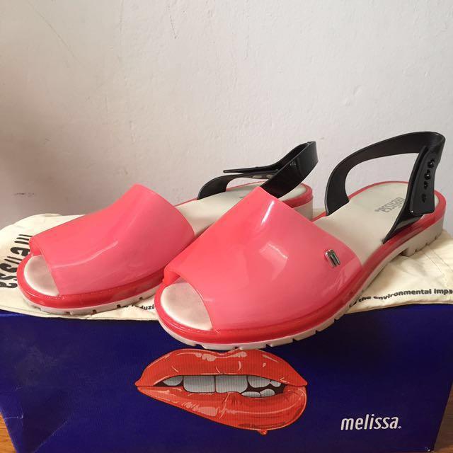 Melissa Espardena Pink Shoes