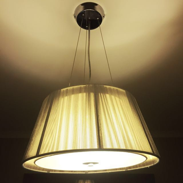 Metal Wire Ceiling Light Pendant
