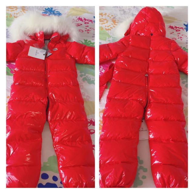 MONCLER Downfield Waterproof snowsuit