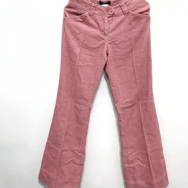 全新-專櫃品牌Morgan燈芯絨長褲