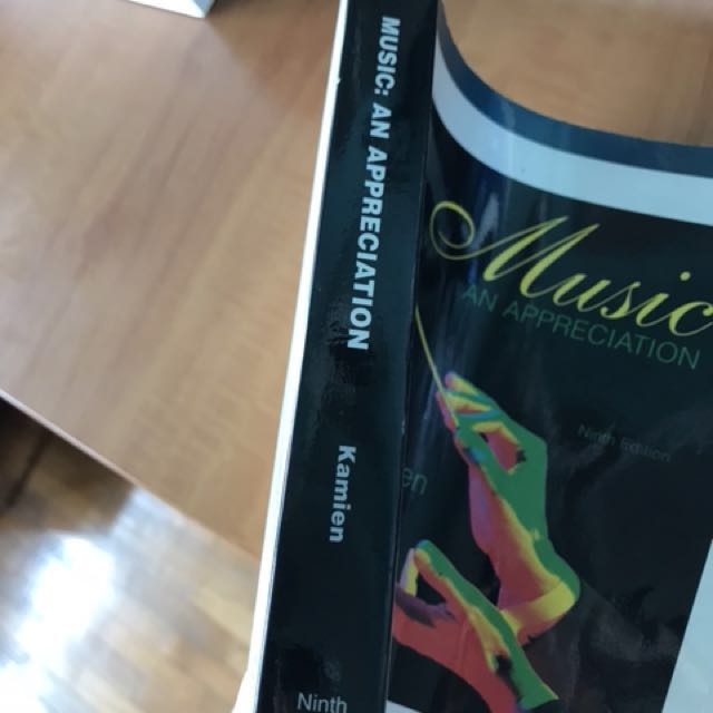 Music an appreciation by roger kamien books stationery music an appreciation by roger kamien books stationery textbooks on carousell fandeluxe Choice Image