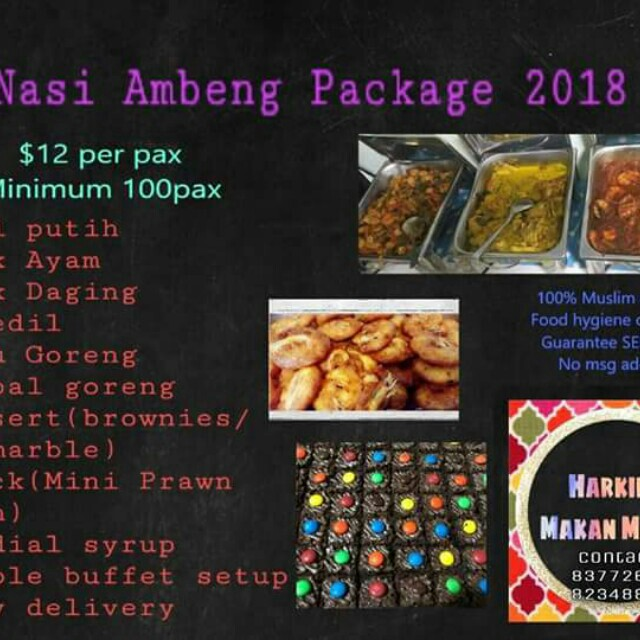 Nasi Ambeng Packages 2017