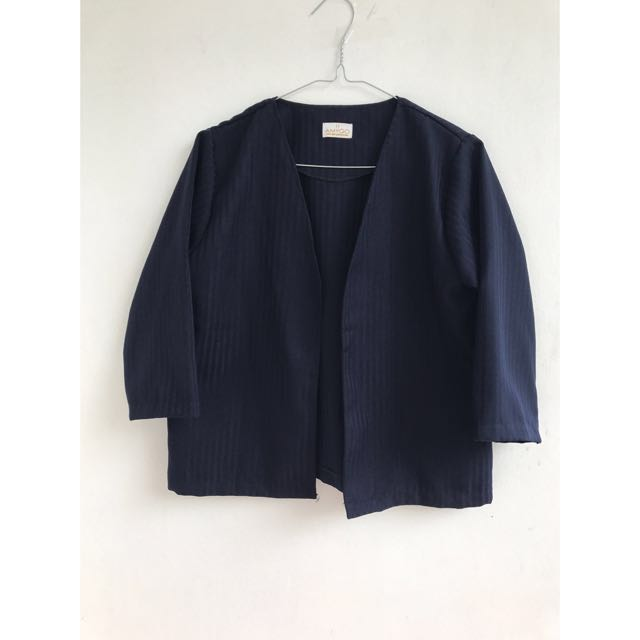 Navy Stripes Outer