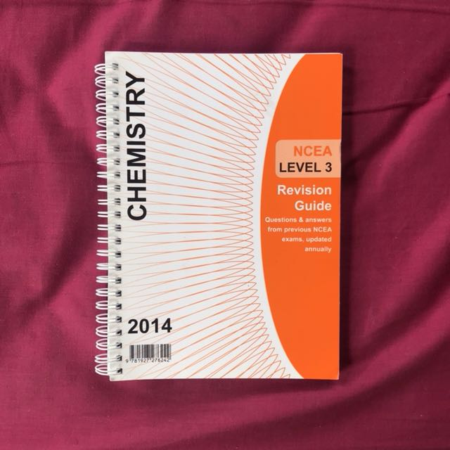 NCEA Level 3 Chemistry Revision guide