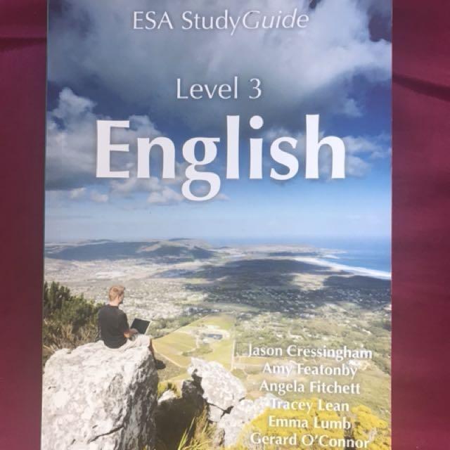 NCEA Level 3 ESA English
