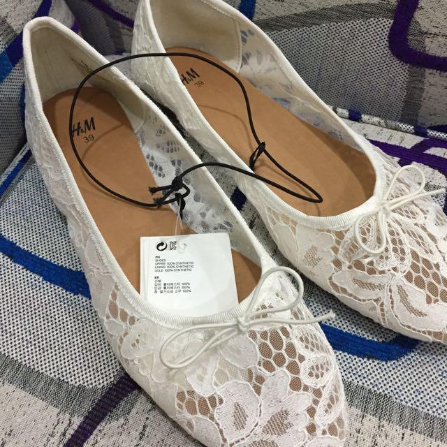 NEW H&M Sepatu ORIGINAL