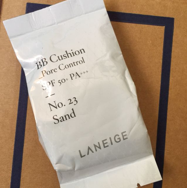 NEW laniege cushion refill pore control 23