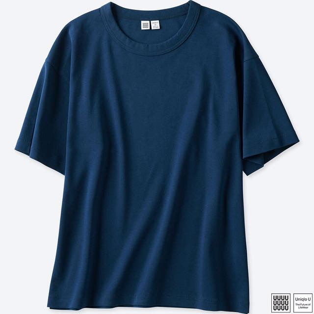 NEW UNIQLO T-SHIRT OVERSIZED CREW NECK