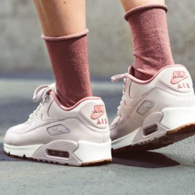 8b3807ea94a1 Nike Air Max 90 in Slit Red Stardust Sail leather