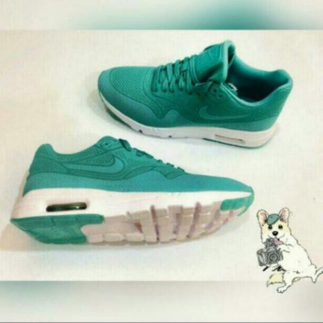 NIKE Wmns Air Max One1 Ultra Moire湖水綠👟殺人鯨