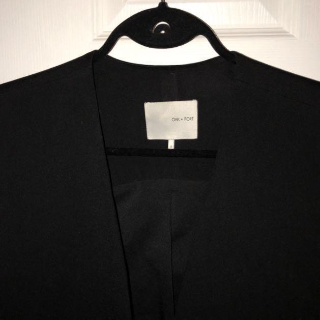 OAK + FORT blazer vest S