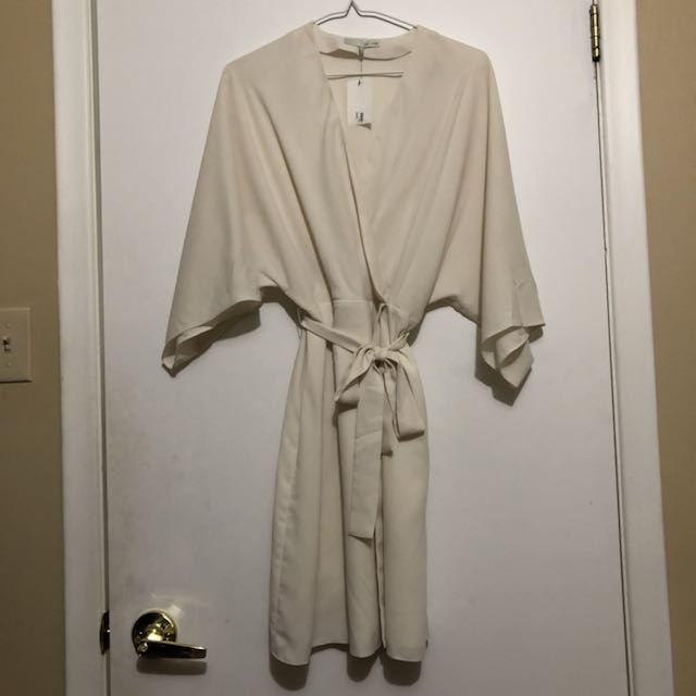 Oak and Fort Cream Kimono/Dress