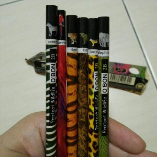Obon pencils