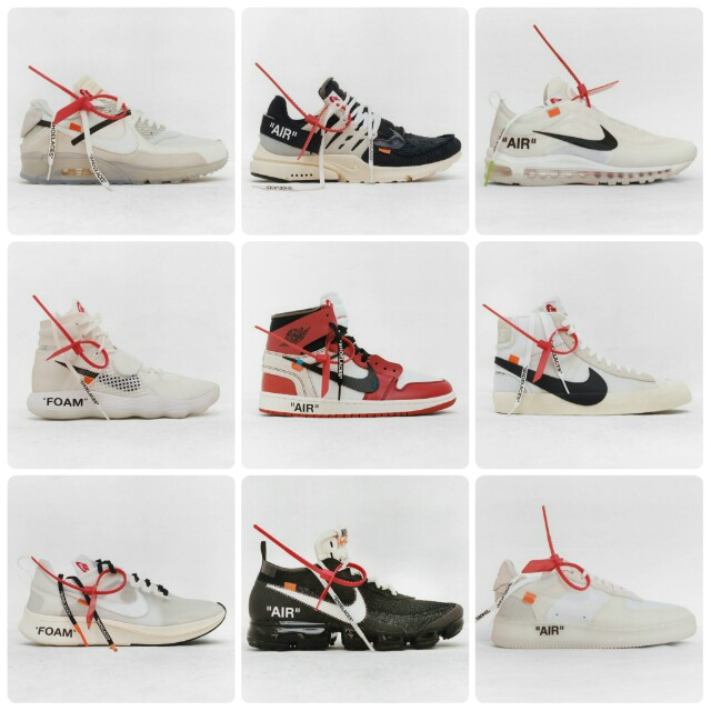 new product 22476 9599c The Ten : Off-White x Nike Air Jordan, Men's Fashion ...