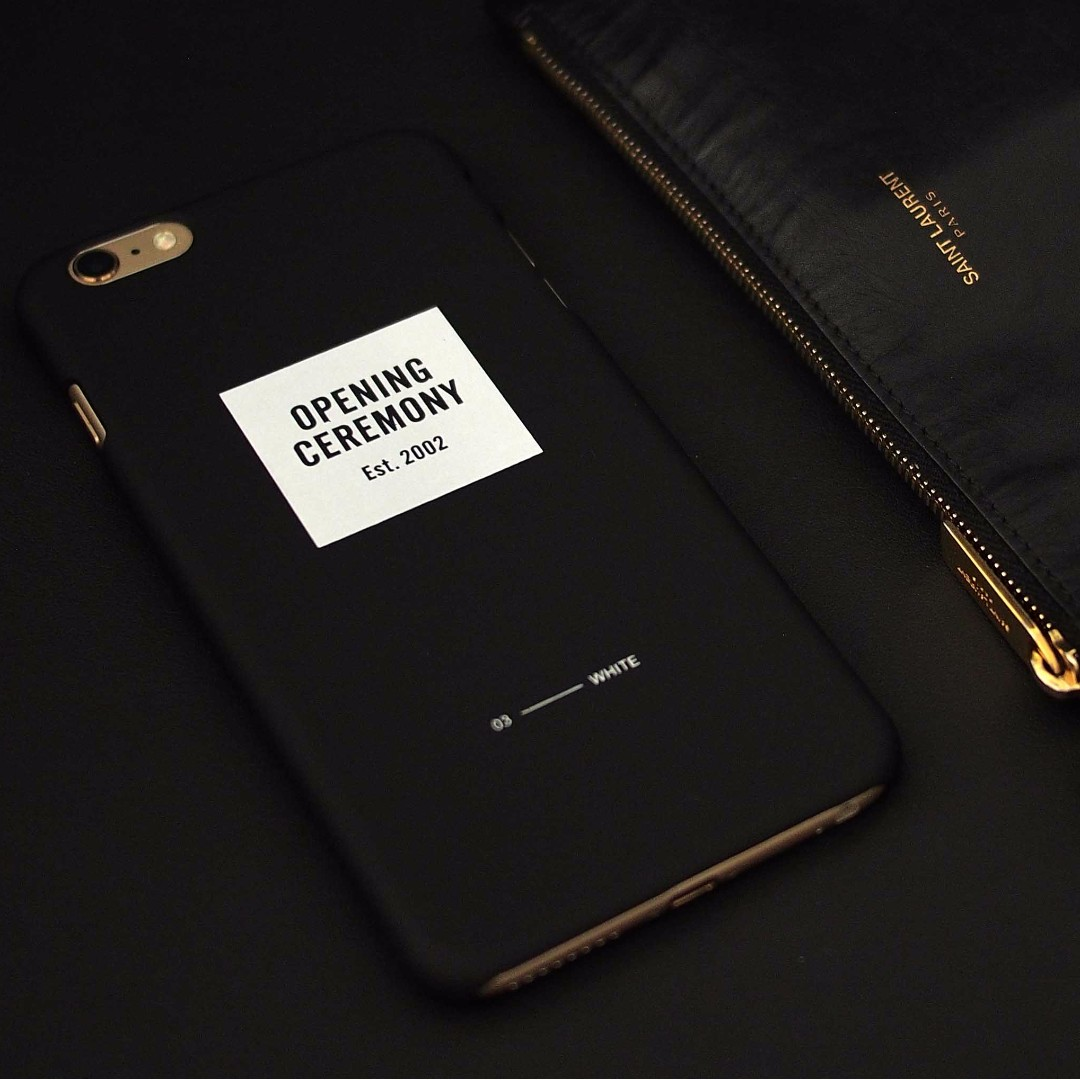 Opening Ceremony iPhone 6p 6plus Mobile Phone Case (Black)