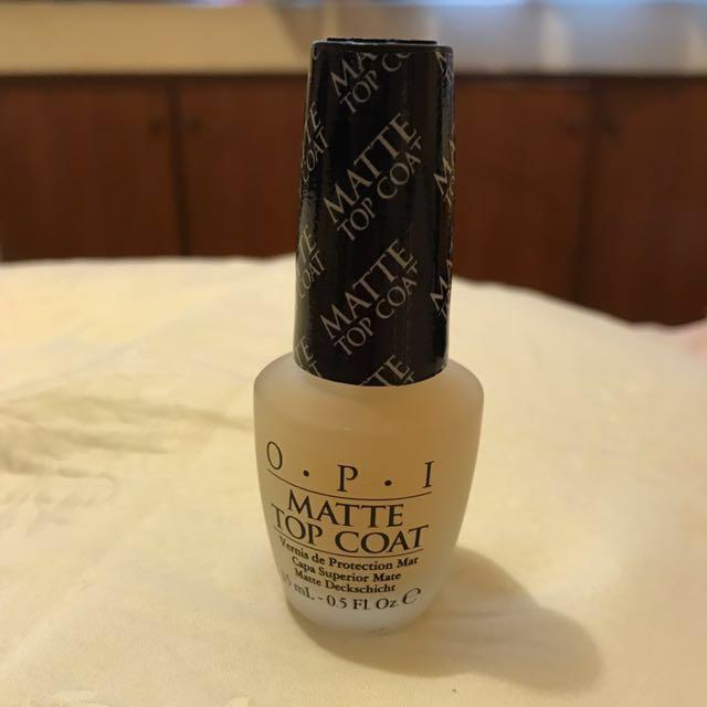 OPI Nail Polish - Matte TOP Coat, Health & Beauty, Perfumes, Nail ...