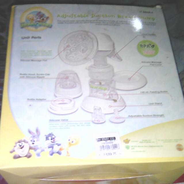 Super Sale:Original Looney Toons Adjustable Suction Breast Pump