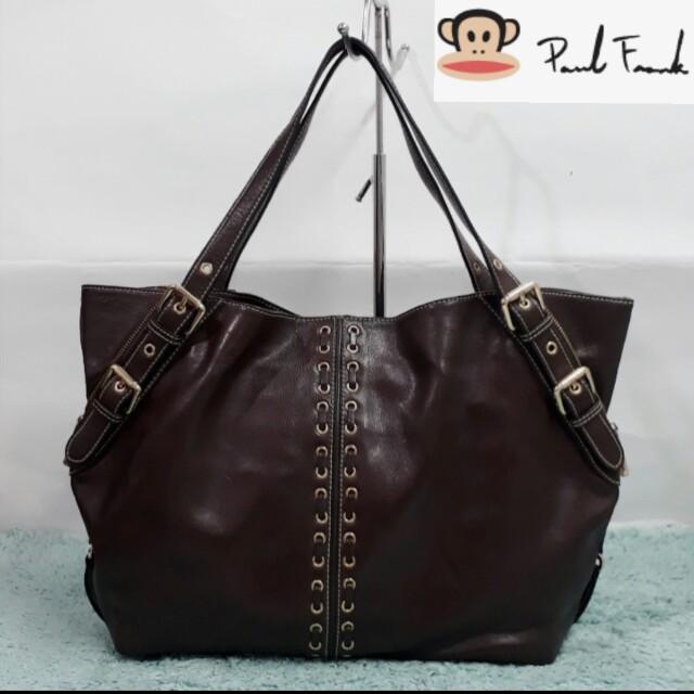Original Paul Frank leather bag d8488fb7c4b0