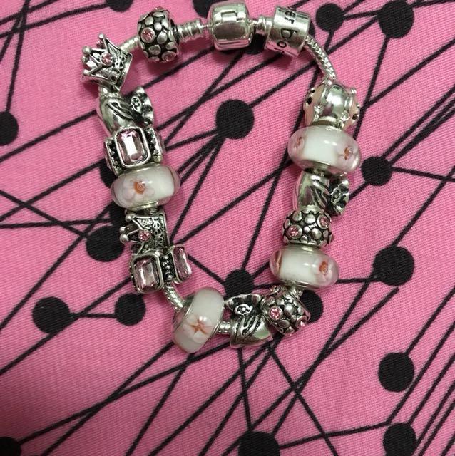 Pandora Look a Like Bracelet (reprice)