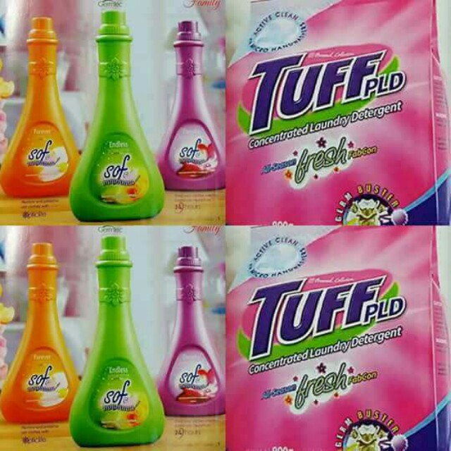 Personal Collection Products Tuff Detergent Amp Fabcon Home